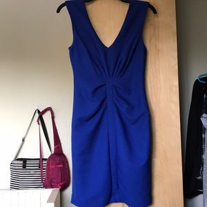 Royal blue cocktail dress from Express
